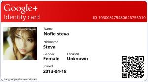 Cara Membuat ID Card Google Plus Keren