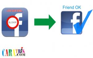Cara kembalikan teman facebook yang diblokir